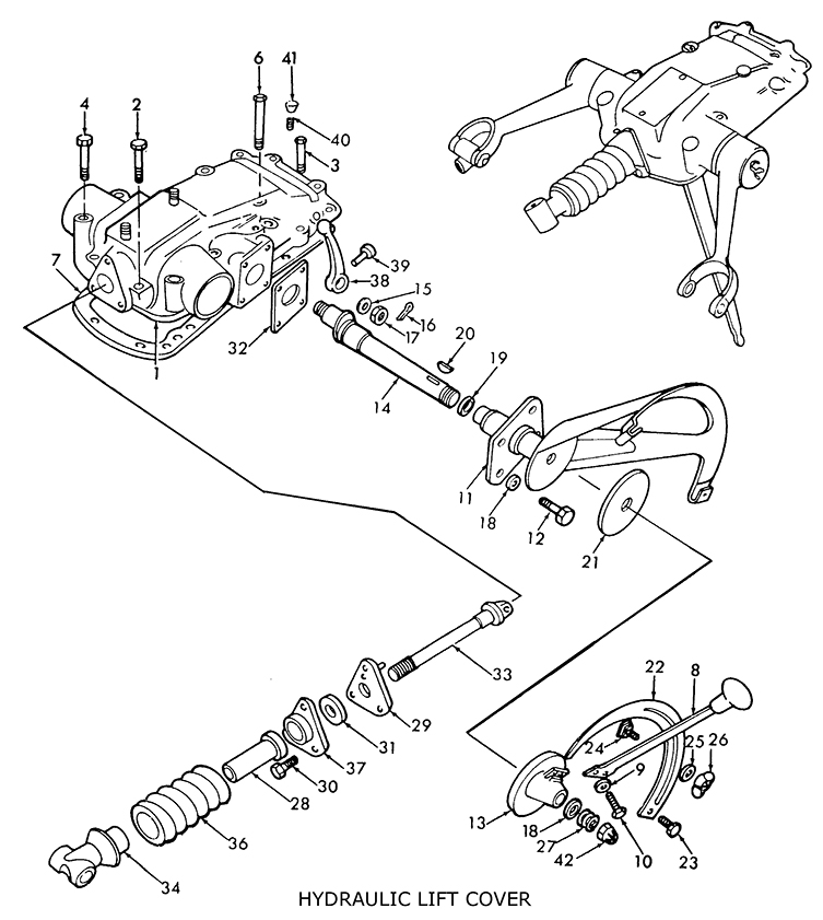 Kubota Lift Cover : Ford tractor hydraulic diagram free engine image