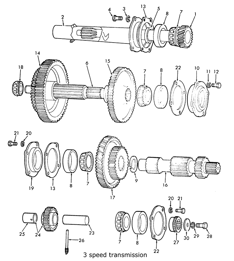 8n Ford Tractor Transmission : Ford n speed transmission related