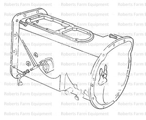 Ford Tractor 9N, 2N Transmission Case Tractor