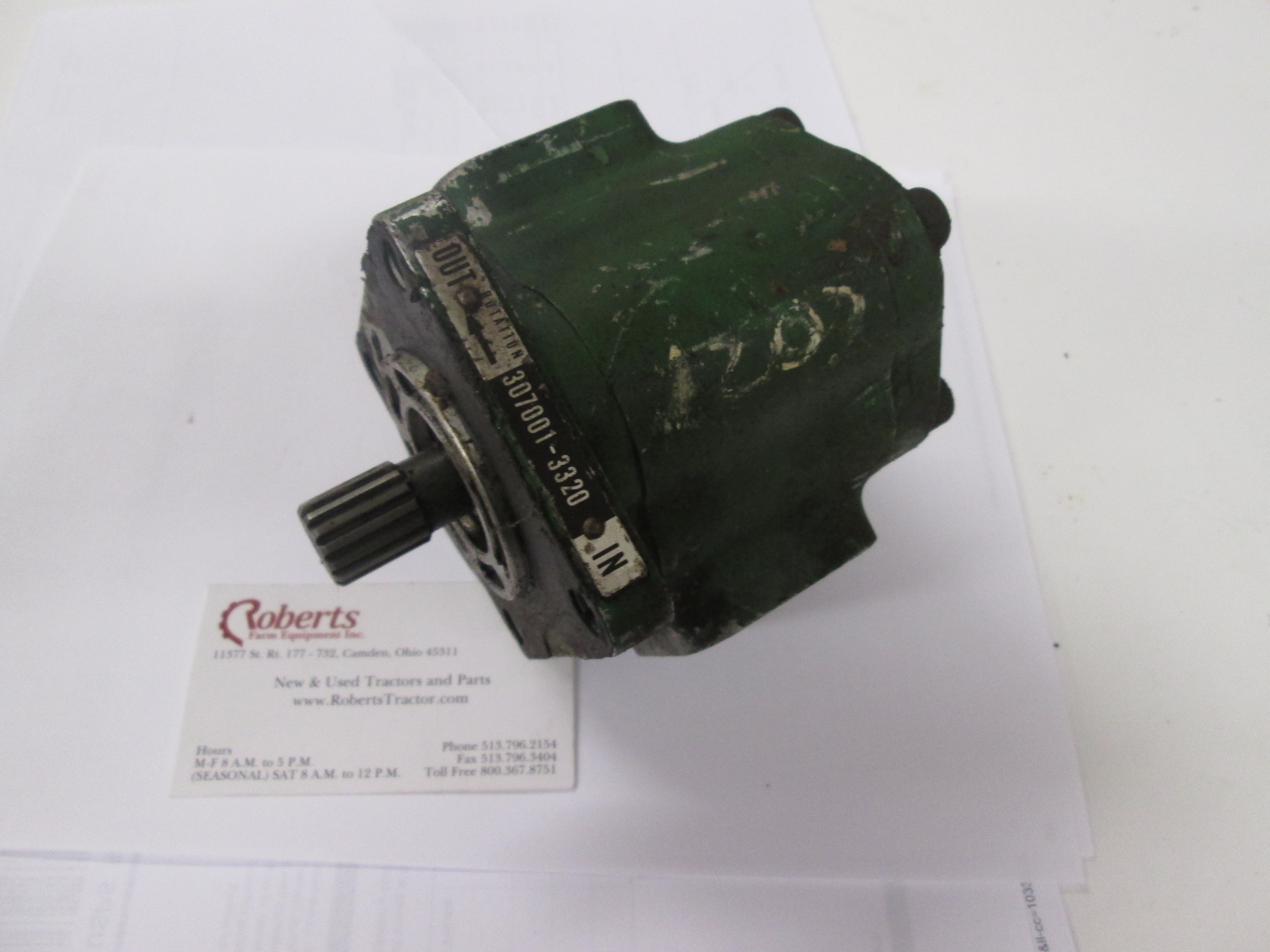 John Deere 850, 950, 1050 Hydraulic Pump