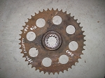 Case 1830, 1835 Driven Sprocket for Axle