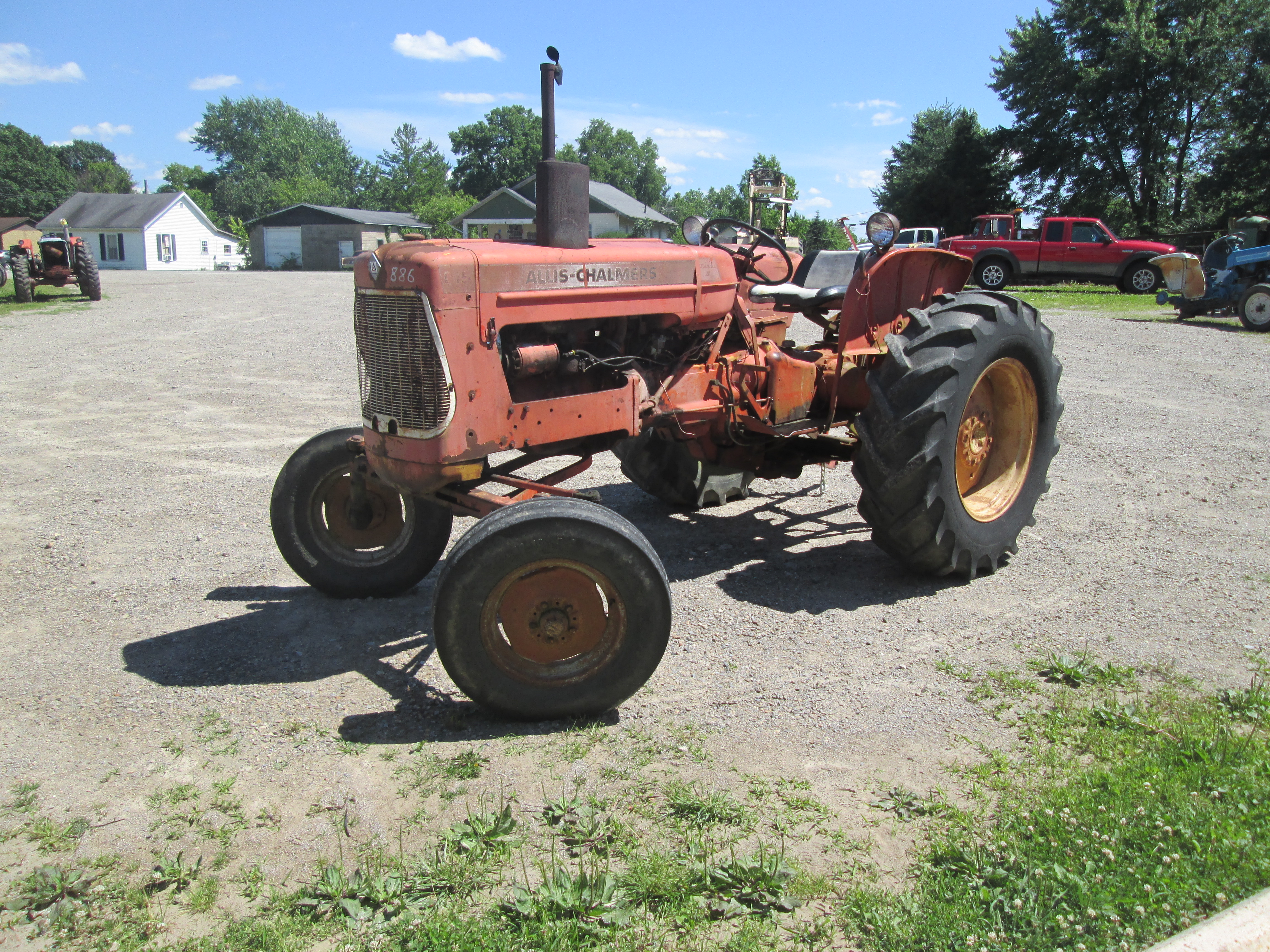 Allis Chalmers D15 gas Engine