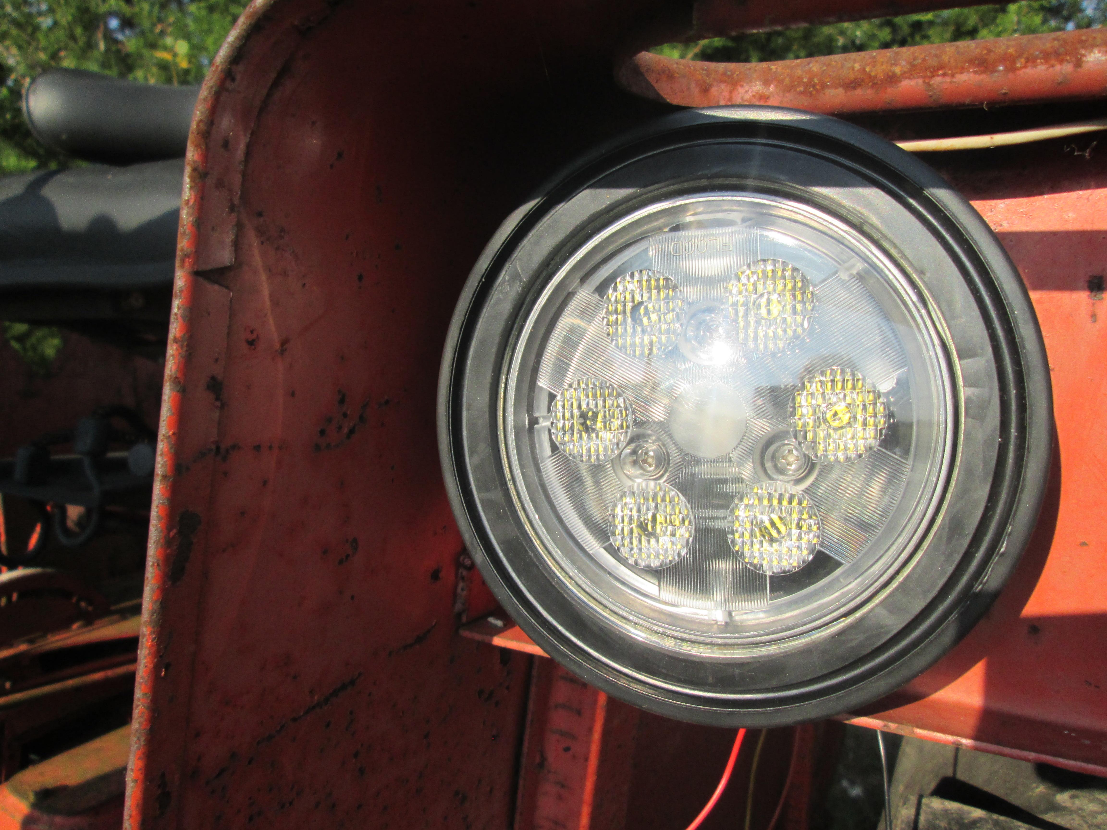 Allis Chalmers Tractor Led Fender Light 160 170 175 180 185 190 200