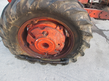 Used Allis Chalmers WD WD45 Rear Wheel Weight