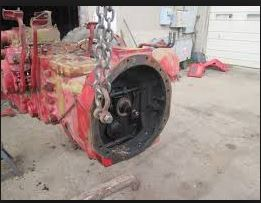 Farmall 706 Rearend for Puller