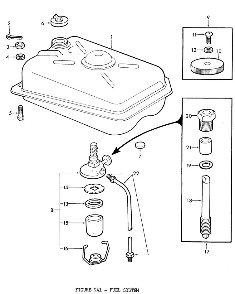 Ford 2n 8n 9n Fuel System