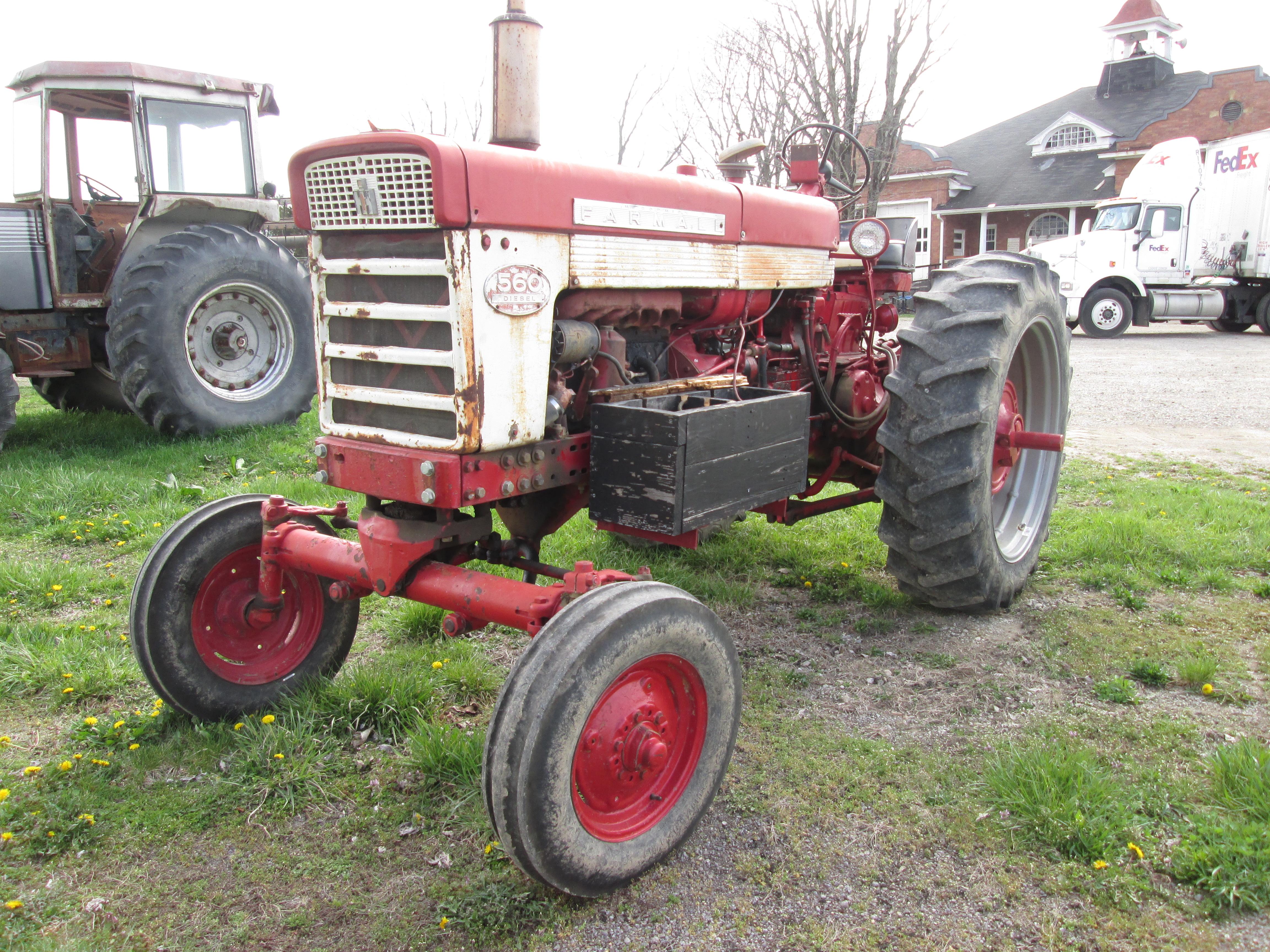 Farmall 560 Dsl Engine