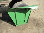 John Deere Tractor Flat-Top Fender Right Hand