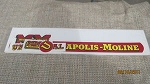 Minneapolis Moline Tractor U Decal Set