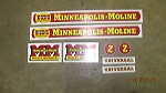 Minneapolis Moline Tractor Z Decal Set