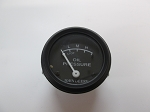 John Deere A, B, G, Black Face Oil Gauge