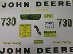Decal John Deere 730