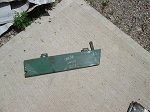 Oliver 1950T Hood Rear Lower Side Panel Right