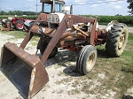 Dunham Loader off David Brown 1200 Tractor