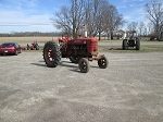 Farmall M Tractor With Wide
