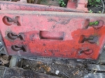 Used Case Front Slab Weight