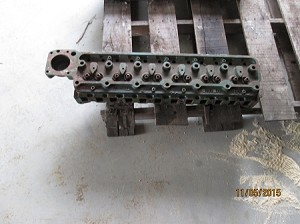 Oliver Tractor 1800 Gas Repaired Cylinder Head. Casting #222202.