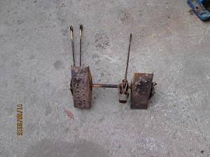 Used New Holland Skid Steer Pedals