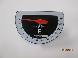 New Aftermarket Ford  Tractor Tachometer
