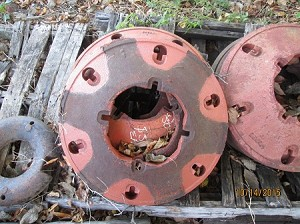Case Tractor Rear Wheel Weight