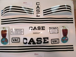 Case vac Decal