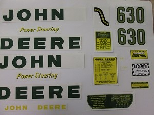 John Deere 630 Decal