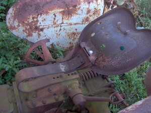 Ford Tractor Flip Top Seat