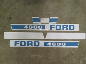 "Ford 4600 68"" to 86"" Decal"