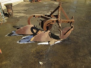 "Used 3 point 3pt 2 Bottom 12"" Plow"