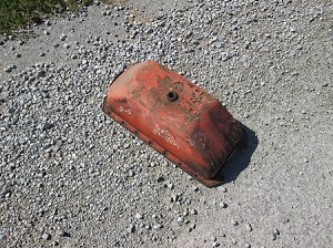 Allis Chalmers WD WD45 Oil Pan