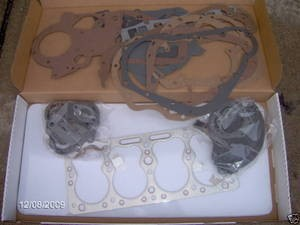 Massey Harris Tractor Continental Engine Gasket Set