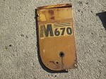 Minneapolis Moline M670 Side Panel Front Right