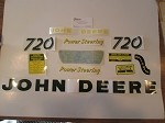 John Deere Decal 720 Gas