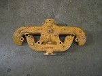 Allis Chalmers wd,wd45,wc,d17 exhaust manifold