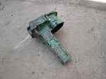 John Deere 1050 Rear Axle Housing Left