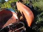 Allis Chalmers D14 D15 Left Fender