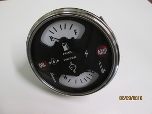 "New Aftermarket International Cluster Gauge with out ""IH"" stamp"